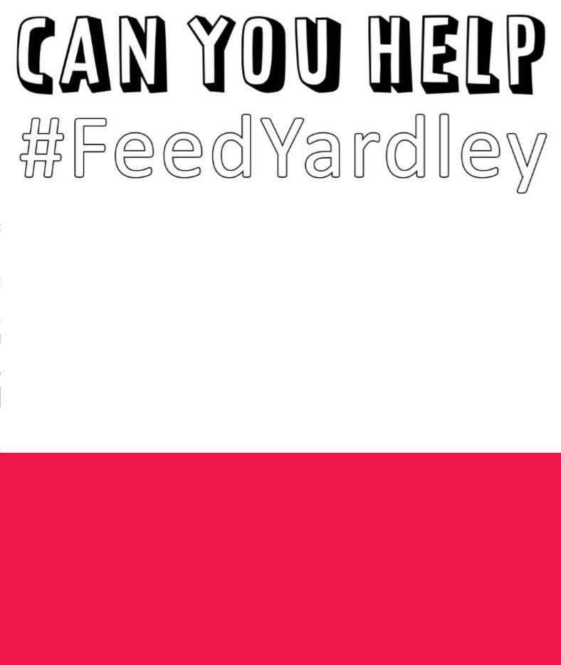 Can you help feed yardley?